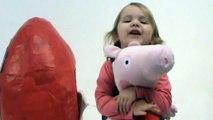 NEW Peppa Pig Huge Giant surprise egg unboxing toys Gigantes juguetes unboxing huevo sorpresa blog