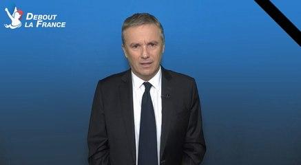 Nicolas Dupont-Aignan demande le rétablissement du service militaire