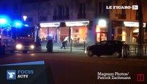 Les échanges de tirs entre la police et les terroristes au Bataclan