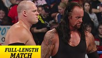 WWE SmackDown | The Undertaker & Kane vs. Mr. Kennedy & MVP | Complete Match Video