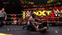 WWE NXT Apollo Crews attacks Baron Corbin