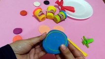 Play Doh Monster DoNuts Hello Kitty _ Play Doh Donuts Making _ Play Doh DoNuts For Children