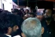 Dr Allah bachayo Resite Noha at Village Ghulam Muhammad Laghari 29 Muharram 1437 hijri