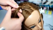 Wedding prom updo. Hairstyle for long hair