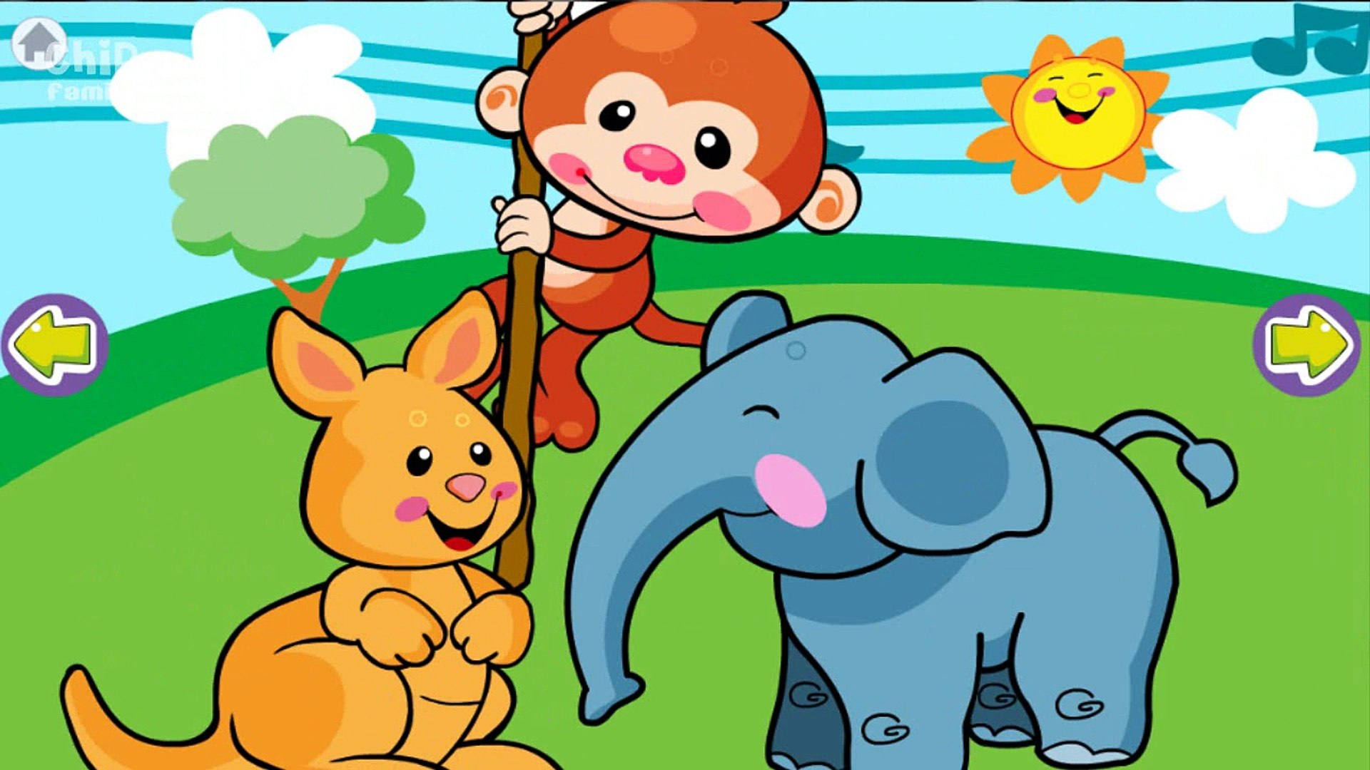 Animal Sounds for Baby - Kids Education App