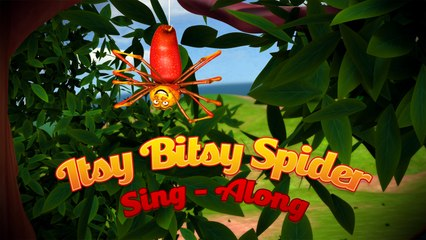 """""""Itsy Bitsy Spider"""" (Lets Sing-Along) - Nursery Rhymes"""