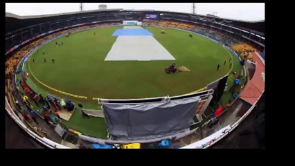 India vs South Africa 2nd Test Day3 16-Nov-2015 Called Off