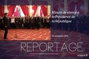 [REPORTAGE] Minute de silence à la Présidence de la République