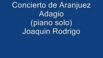 Mercuzio Pianist - Concierto De Aranjuez - Adagio by Joaquin Rodrigo, solo piano transcription