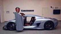 Koenigsegg Regera : une voiture pour les fans des Transformers