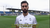 Raul brings the curtain down on his playing career on Sunday. Take a look at the special messages his former teammates M