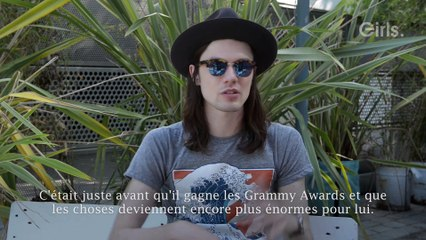 "James Bay en interview pour ""Girls"""