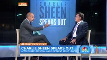Charlie Sheen: I'm here to admit that I am in fact HIV Positive.
