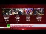 Paris attacks TIMELINE: Suicide bombers, blasts, shootouts