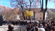 Attentats de Paris : une minute de silence observée à Gap