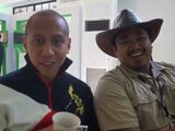 Mikey Bustos and Bogart the Explorer for Android One Launch