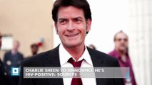 Charlie Sheen to announce he's HIV-positive: sources