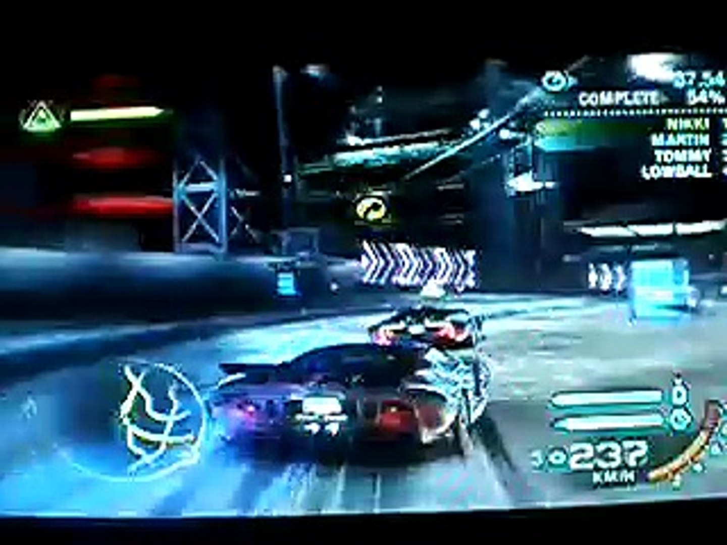 Need For Speed Carbon Fastest Car Ford Gt 522 Kmh Video Dailymotion