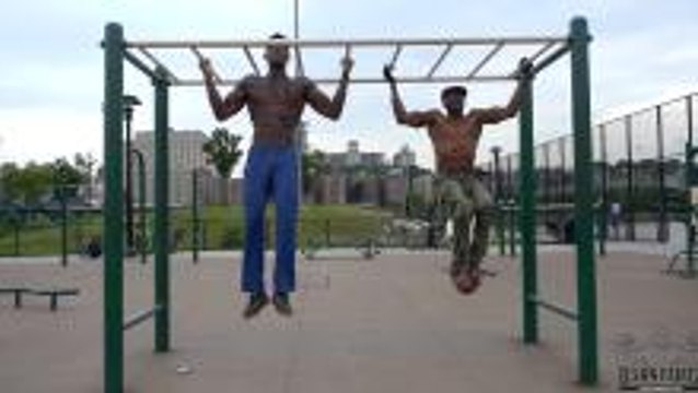 Father and Son Workout Goals