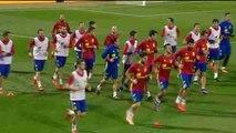 El amistoso entre Bélgica y España en Bruselas se suspende