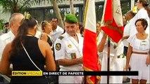Edition spéciale cérémonie de recueillement en hommage aux victimes des attentats de Paris sur Polynésie 1ère