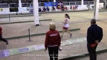 Qualifications tir progressif 1 sur 2, Sport Boules, Euro Féminin, Saluzzo 2015