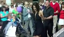 Pakistani Anchor Reham Khan dancing in UK AAJ WITH REHAM KHAN, AAJ NEWS, AAJ TV,BBC