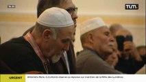 Prière pour la paix à la Grande Mosquée de Lyon
