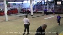 Demi-finales, tir rapide en double, Sport Boules, Euro Féminin, Saluzzo 2015