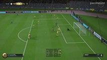 EA SPORTS™ FIFA 16 fut xbox one goal but bicyclette lacazette retournée !!!