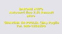 Renault MASTER 3000 DCI  7 POSTI CON PEDANA Usato