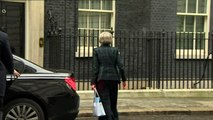 Cabinet members arrive at 10 Downing Street