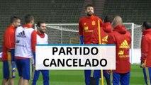 Cancelan el amistoso entre España y Bélgica en Bruselas