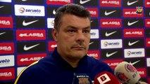 FCB Handbol: Xavi Pascual i Carlos Ruesga, prèvia FC Barcelona Lassa - SD Teucro