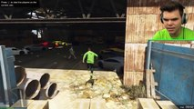ROCKET THE STUNTERS! (GTA 5 Funny Moments)
