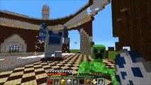 MUTANT YETI VS QUARTZ GOLEM, MUTANT CREEPER, & MUTANT OBSIDIAN GOLEM - Minecraft Mob Battles - Mods