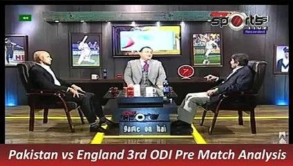 Pakistan vs England 3rd ODI Highlights of Pre Match Analysis 17 Nov 2015 P 1