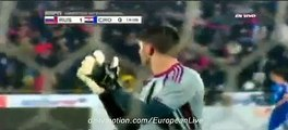 Amazing GOAL FEDOR SMOLOV Russia 1-0 Croatia 17.11.2015 HD