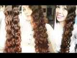 No Heat Chopstick Curls- Heatless Inspired Arwen Loose curls LOTR