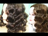 Foil Curls Method 2-No Heat Amy Adams Inspired Waves- Heatless Waves for Short-Medium Lenght Hair