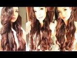 No Heat Magazine Curls- Heatless Inspired Ariana Grande Curls plus An Easy Hair Tutorial