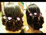 Fall Braided Updo Easy Prom Rosette Updo Homecoming Hairstyle 2012