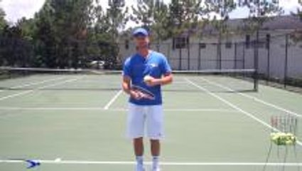 Tennis Slice Serve Cheat for Crazy Spin