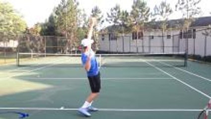 Tennis Serve Cheat: How To Add Speed