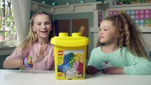 """LEGO® Building with Friends  - """"Quick Build"""" Build a Picture Frame Time lapse"""