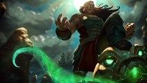 Illaoi thème login screen - League of Legends