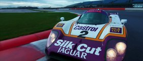 Andy Wallace drives new Jaguar XJR and Le Mans-winning XJ-R9 LM at Silverstone Trailer