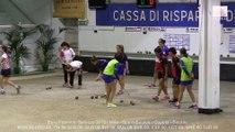 Second tour poule, Double, Sport Boules, Euro Féminin, Saluzzo 2015