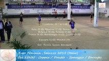 Barrages poule, Double, Sport Boules, Euro Féminin, Saluzzo 2015