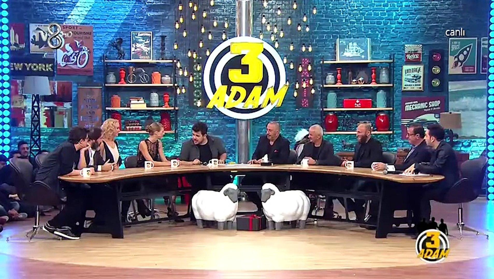 3 Adam 34.Bölüm 11 Kasım 2015 HD - Cem Yılmaz - 2.Part
